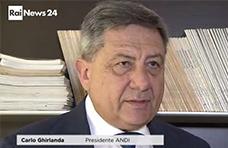 Intervista al Presidente Carlo Ghirlanda a RaiNews24