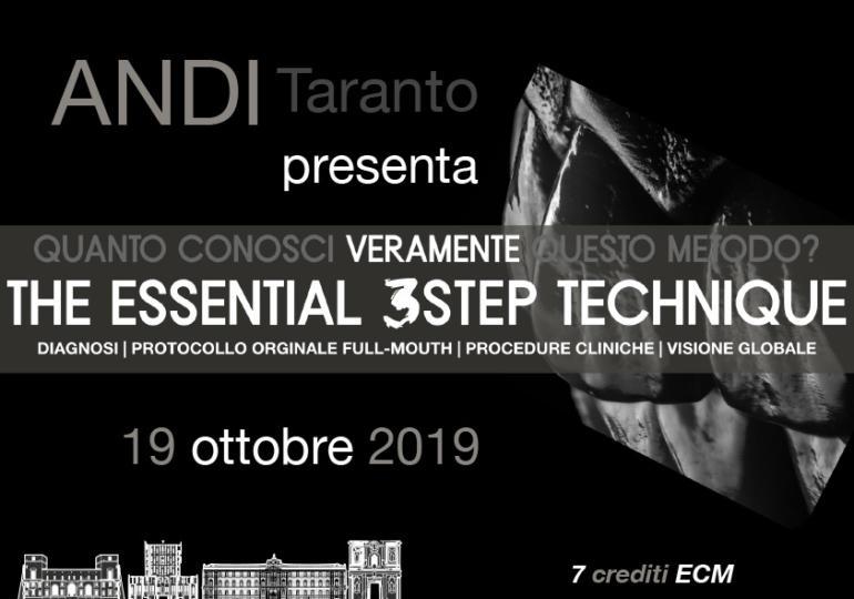 ANDI Taranto presenta la tecnica 3STEP