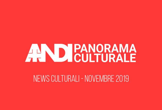 News culturali - Novembre 2019