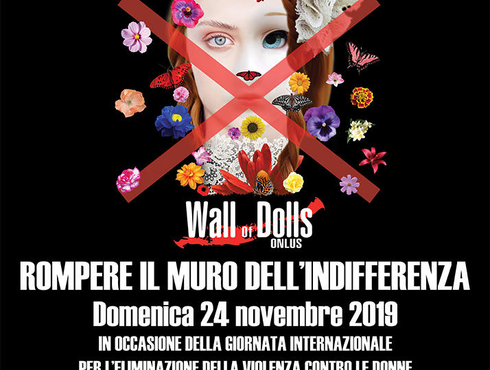 ROMPERE IL MURO DELL'INDIFFERENZA CON LA FONDAZIONE ANDI ONLUS E THE WALL OF DOLLS