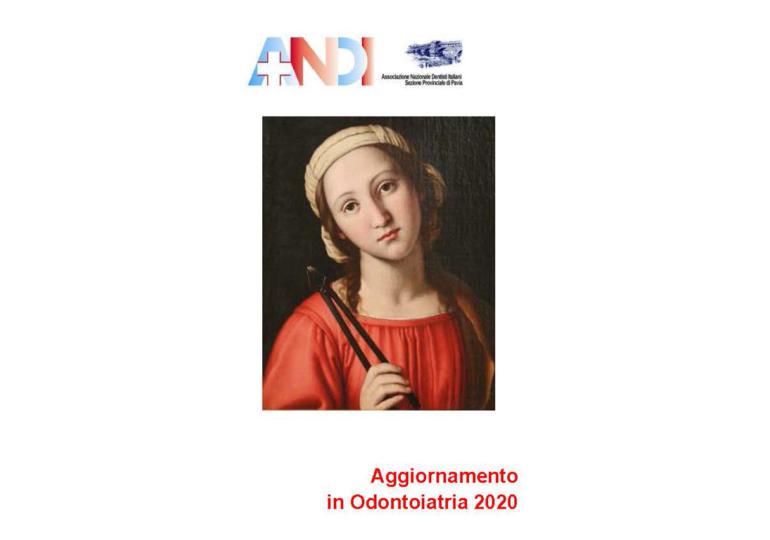 ANDI Pavia - Corso annuale di aggiornamento 2020