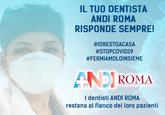 Dichiarazione Sabrina Santaniello Presidente ANDI Roma – Iniziative Emergenza Covid
