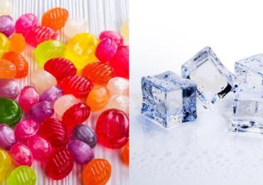 Caramelle e ghiaccio