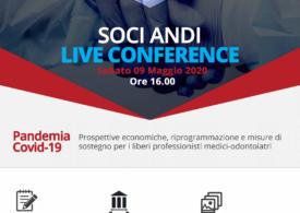 """""""Live Conference ANDI"""" incontro con ENPAM e SOSE sulle prospettive a sostegno della libera professione"""