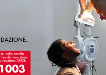 5X1000 a Fondazione ANDI onlus, C.F. 08571151003