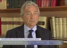 Rai TGR Emilia Romagna, intervista al Segretario sindacale nazionale ANDI, Corrado Bondi